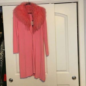 "Beautiful Bubble Gum ""COLOR"" sweater coat"